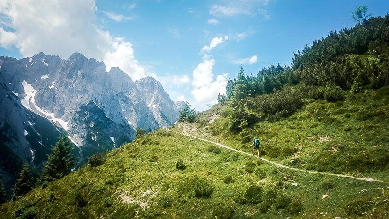 Wilder Kaiser Koasa Trail Wandern Etappe 2 Berg