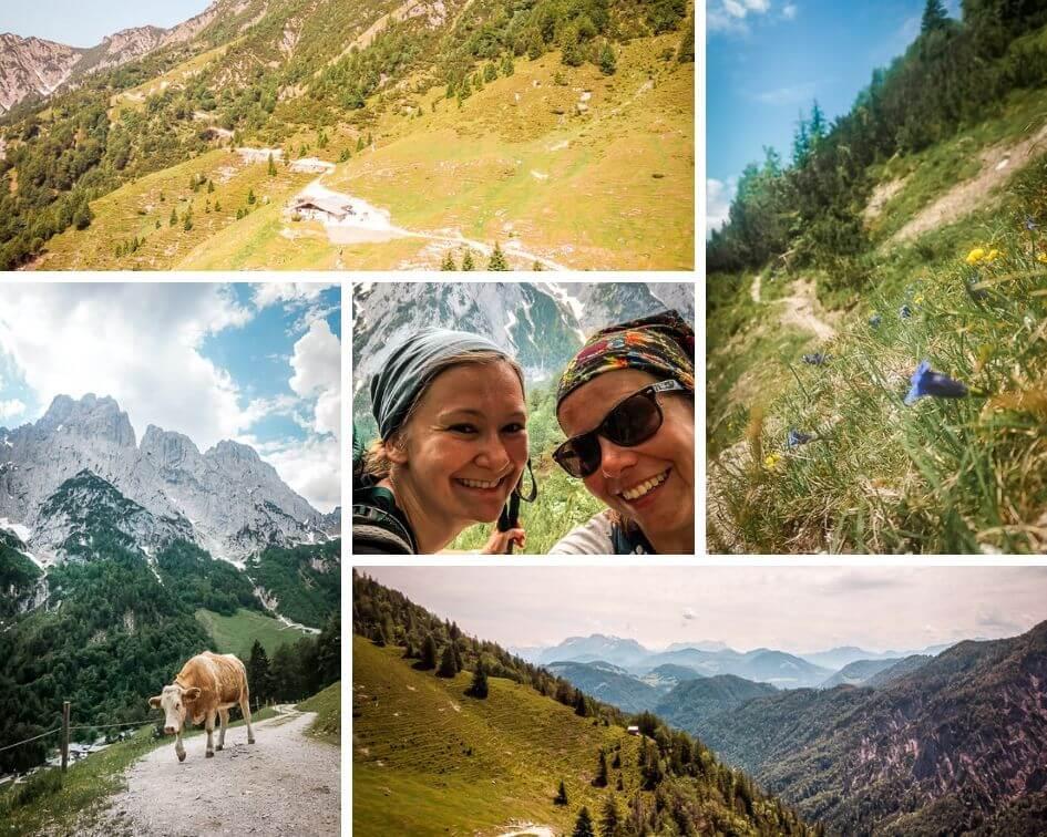 Wilder Kaiser Koasa Trail Wandern Etappe 2 Impressionen