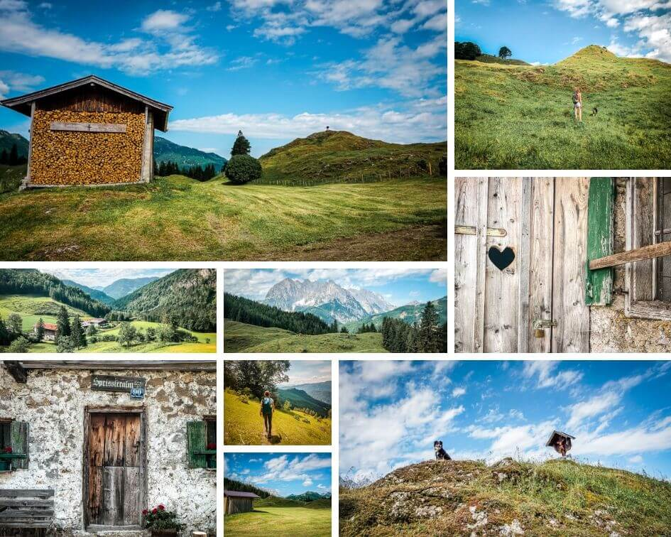 Wilder Kaiser Koasa Trail Wandern Etappe 3 Impressionen