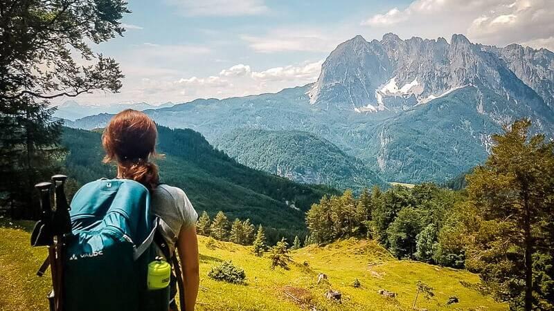 Wilder Kaiser Koasa Trail Etappe 3 Aussicht