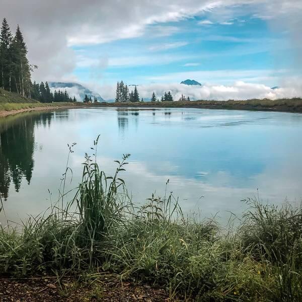 Wilder Kaiser Koasa Trail Wandern Etappe 5 Speichersee Eichenhof
