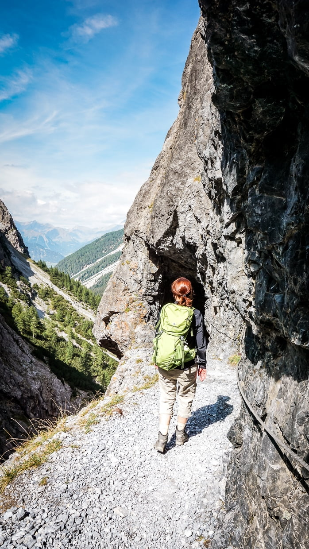 Alpe Adria Trail Wanderung Berge alleine wandern