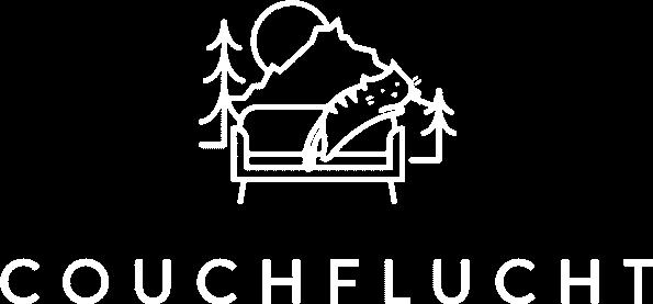 Couchflucht Logo weiss