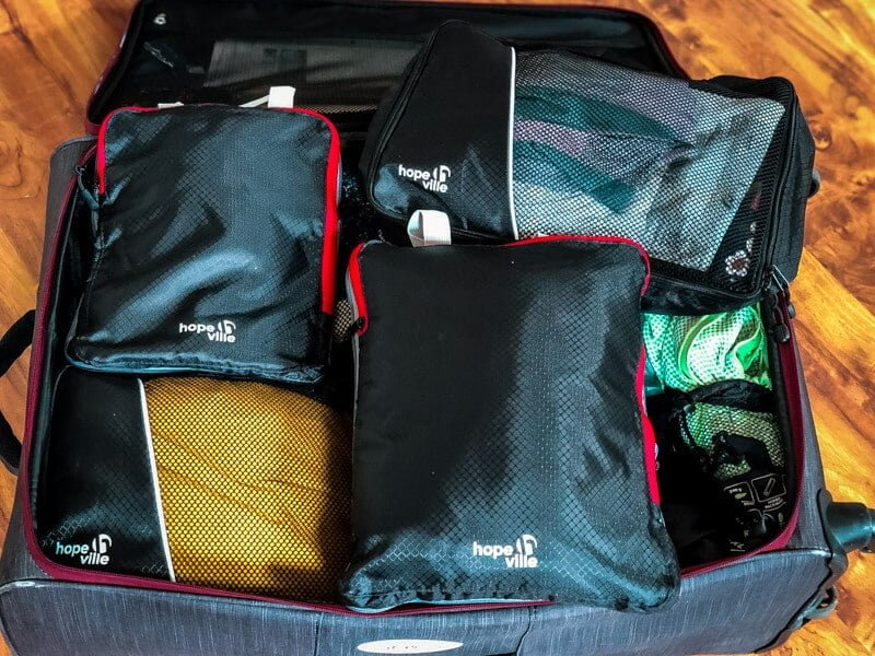 Packtaschen Hopeville Packliste wandern Ausrüstung