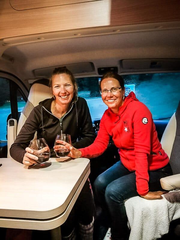 Couchflucht und Vandogblog im Van