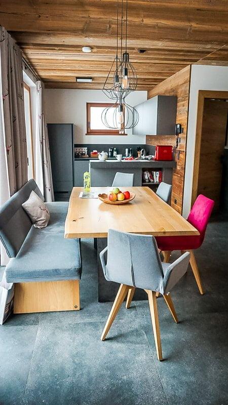 Chalets und Hotel Grosslehen in Fieberbrunn im Pillerseetal Lounge