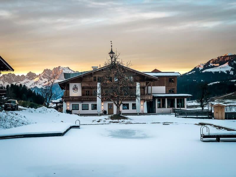 Chalets und Hotel Grosslehen in Fieberbrunn im Pillerseetal