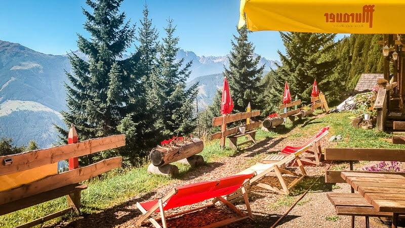 Hohe Tauern Rangersdorfer Hütte Marterle Alpe Adria Trail