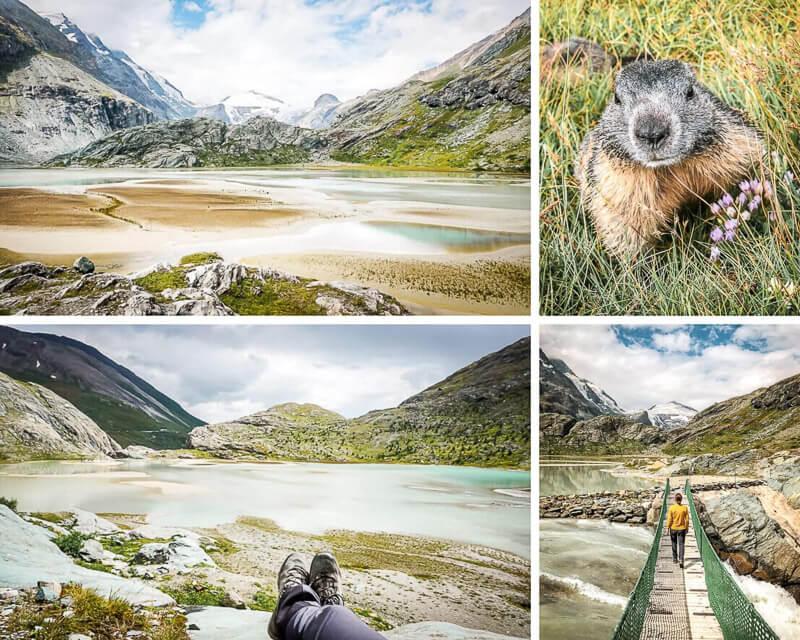 Hohe Tauern Großglockner Gletscher Alpe Adria Trail