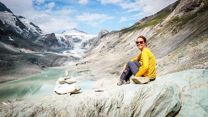 Hohe Tauern Großglockner Pasterze Gletscher Alpe Adria Trail