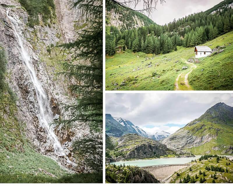 Hohe Tauern Leiterfall Alpe Adria Trail