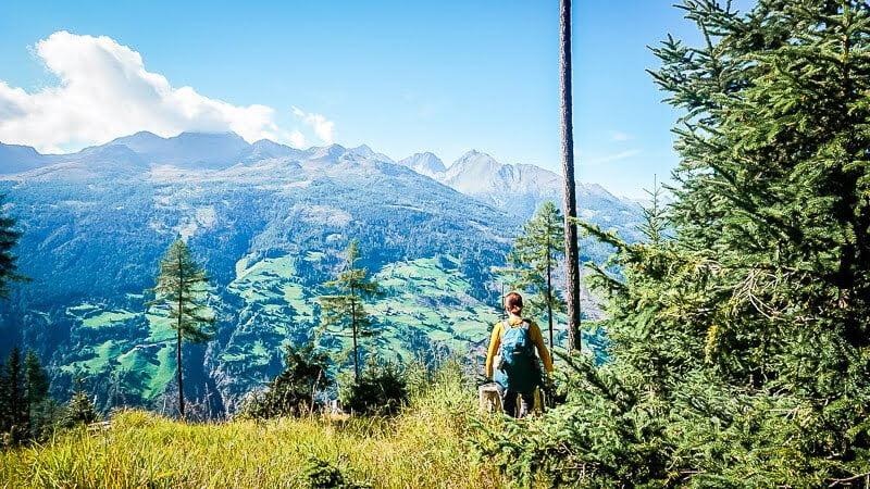 Hohe Tauern Weg zum Marterle Lienzer Dolomiten