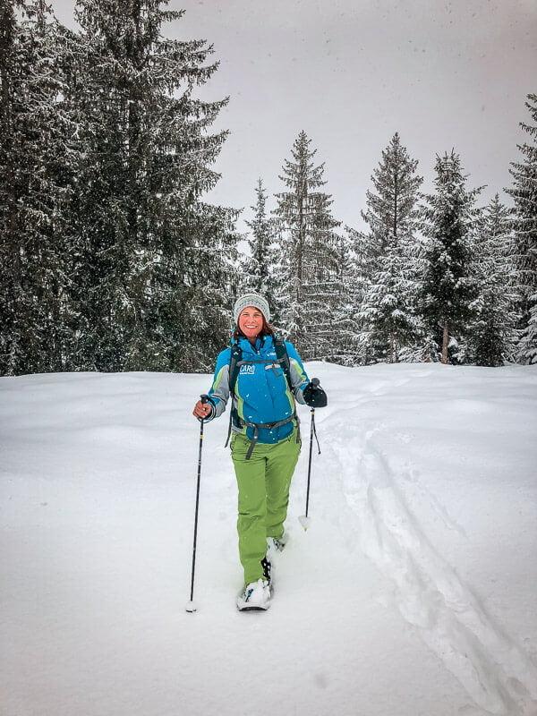 Schneeschuhwandern Pillerseetal