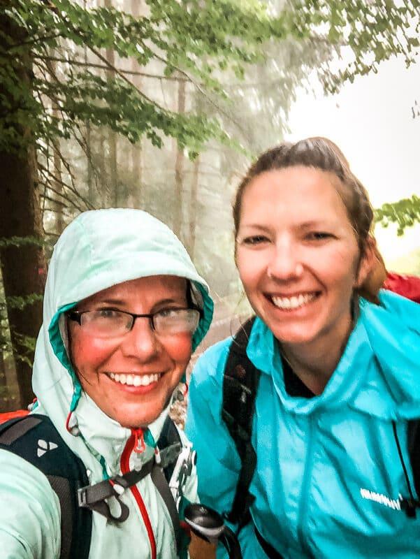Couchflucht und Vandogblog im Regen im Mölltal