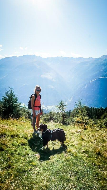 Vandogblog unterwegs im Mölltal mit Hund Skye