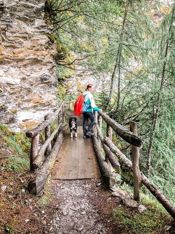 Mölltal Rollbahn Großfragant Alpe Adria Trail Etappe 5