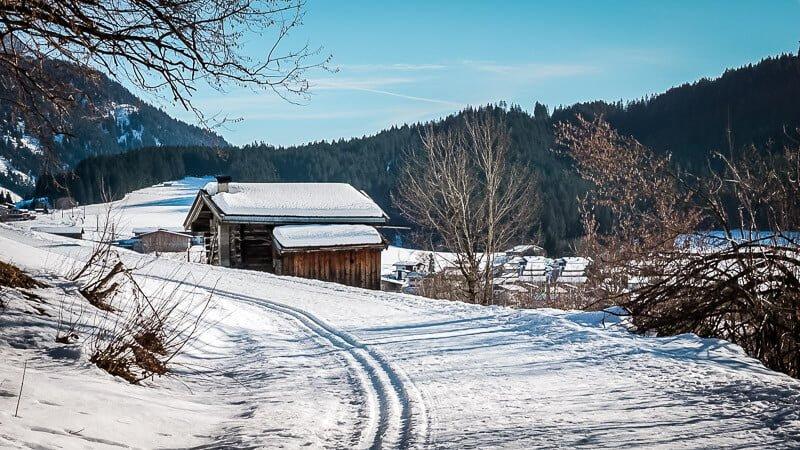 Schneeidylle Pillerseetal Fieberbrunn