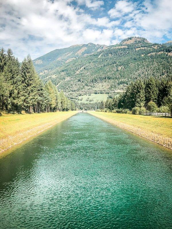 Möllstausee Alpe Adria Trail Etappe 9