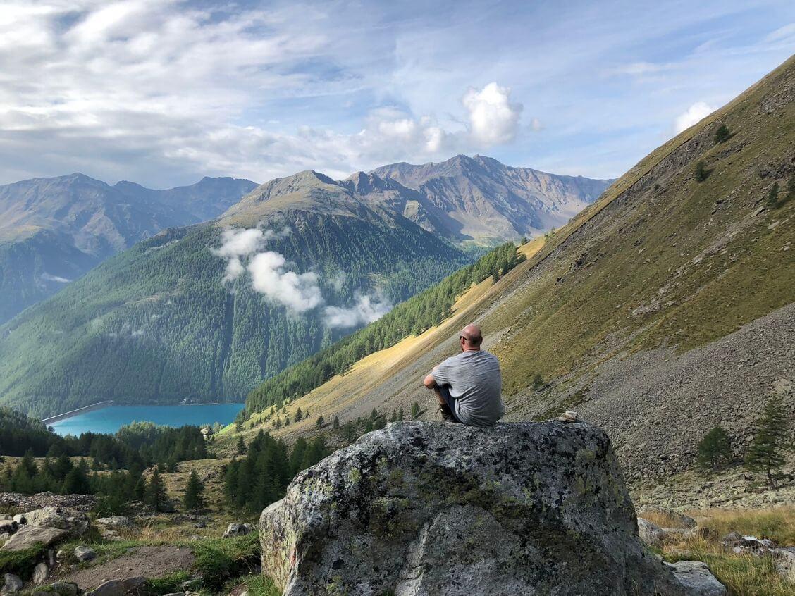 Fernwanderwege Alpenüberquerung E5 Bergidylle