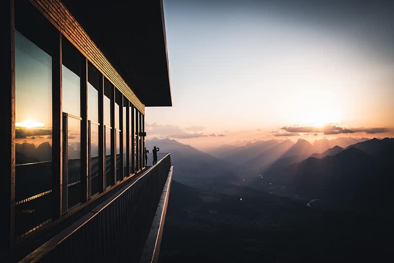 Innsbruck Trek Mehrtagestour Sonnenaufgang