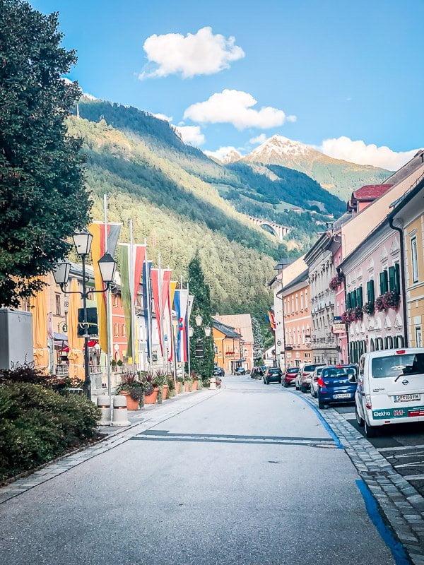Hauptstraße von Obervellach