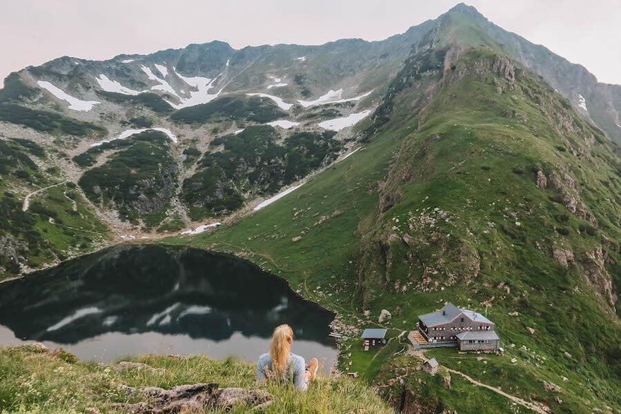 Aussicht Wildseeloderhaus Mehrtagestour WaiWi im Pillerseetal
