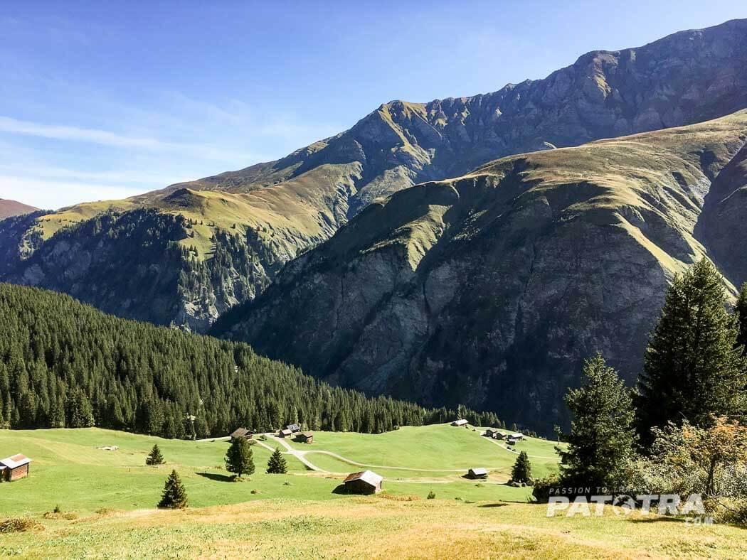 Fernwanderwege Walserweg in Graubünden Schweiz