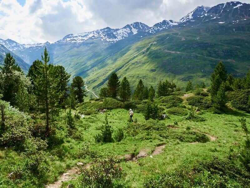 Fernwanderwege Ötztaler Urweg Mehrtagestour Ötztal