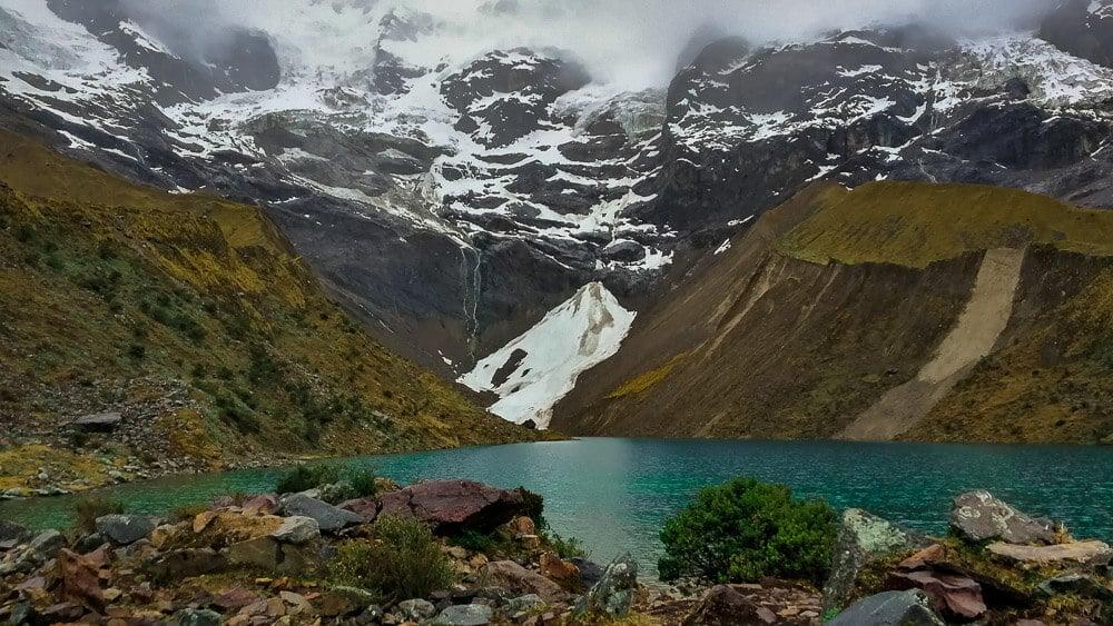 Bergsee Salkantay Trek Peru