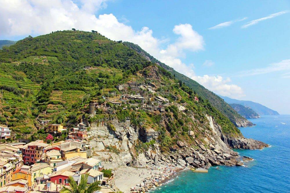 Mehrtagestour entlang der Cinque Terre in Ligurien Italien