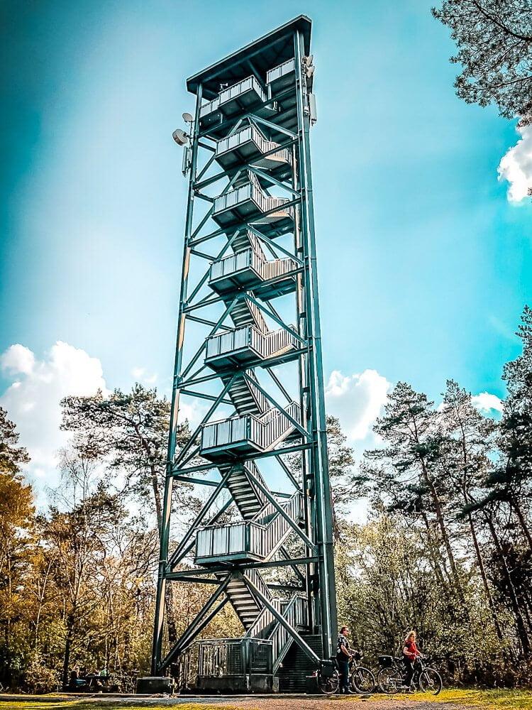 Feuerwachturm in der Haard im Ruhrgebiet