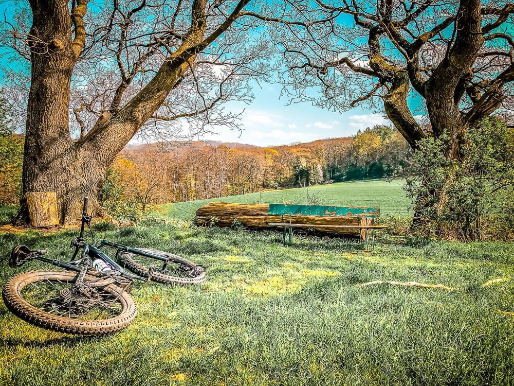 Mountainbike Tour in der Elfringhauser Schweiz im Ruhrgebiet