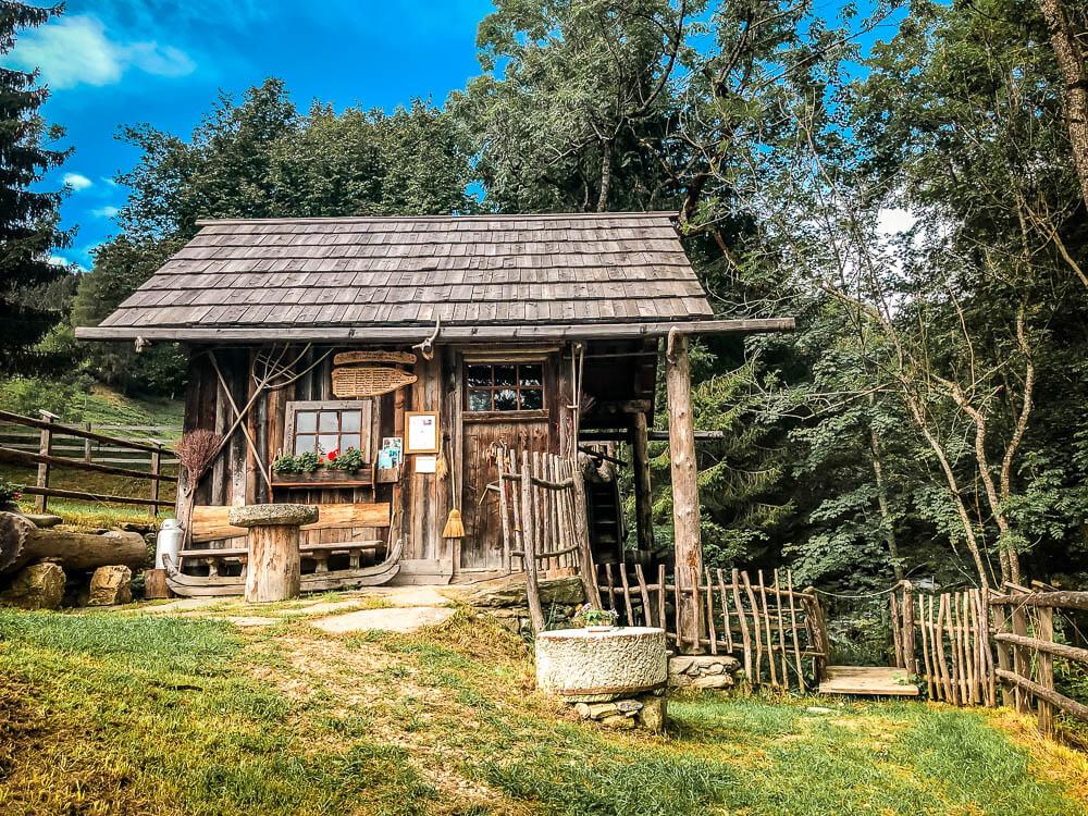 Alte Bauernmühle vor Gmünd auf Alpe Adria Trail Etappe 10