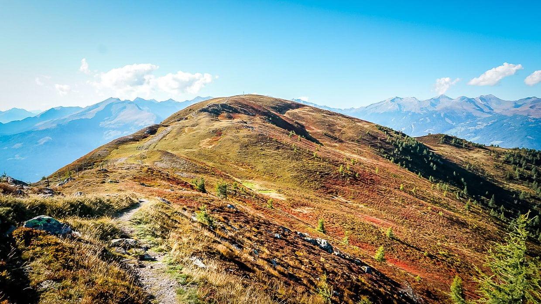 Wanderpfad Alpe Adria Trail vom Tschiernock zum Tschierweger Nock