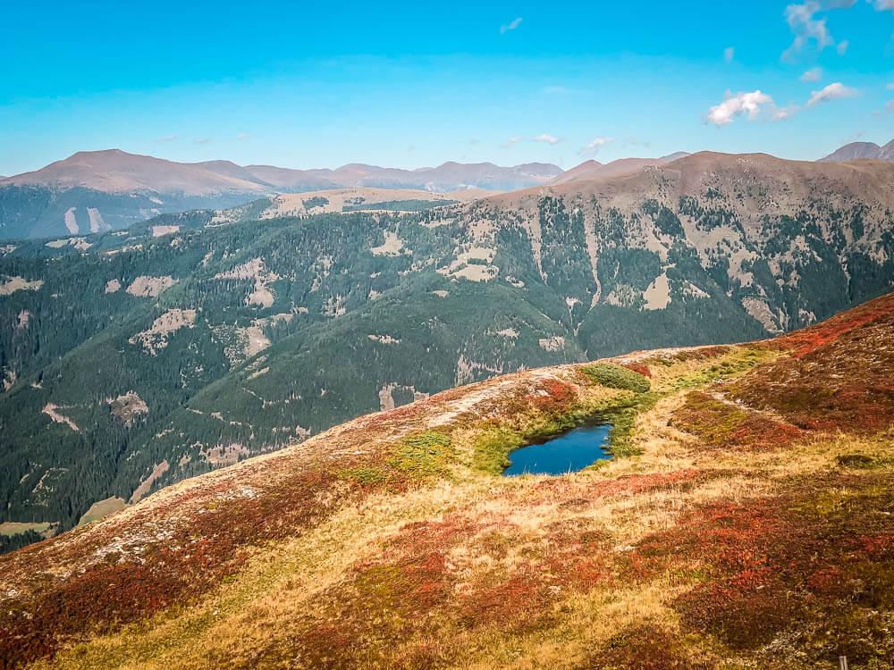 Kleiner See auf dem Weg vom Tschiernock zum Tschierweger Nock