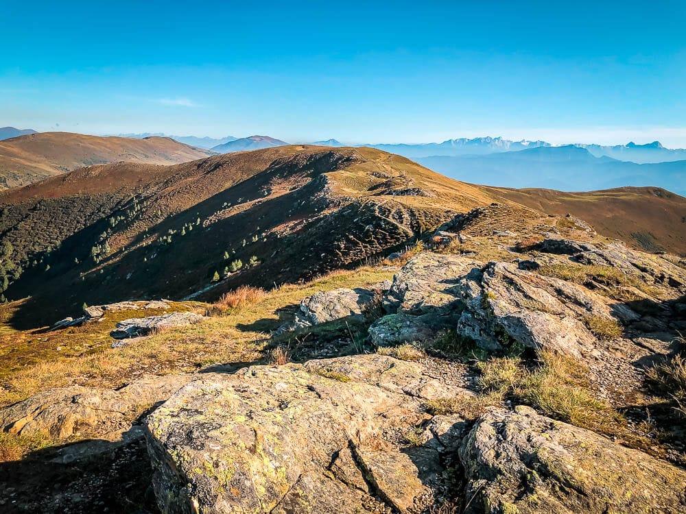 Berggrat in den Nockbergen am Tschierweger Nock