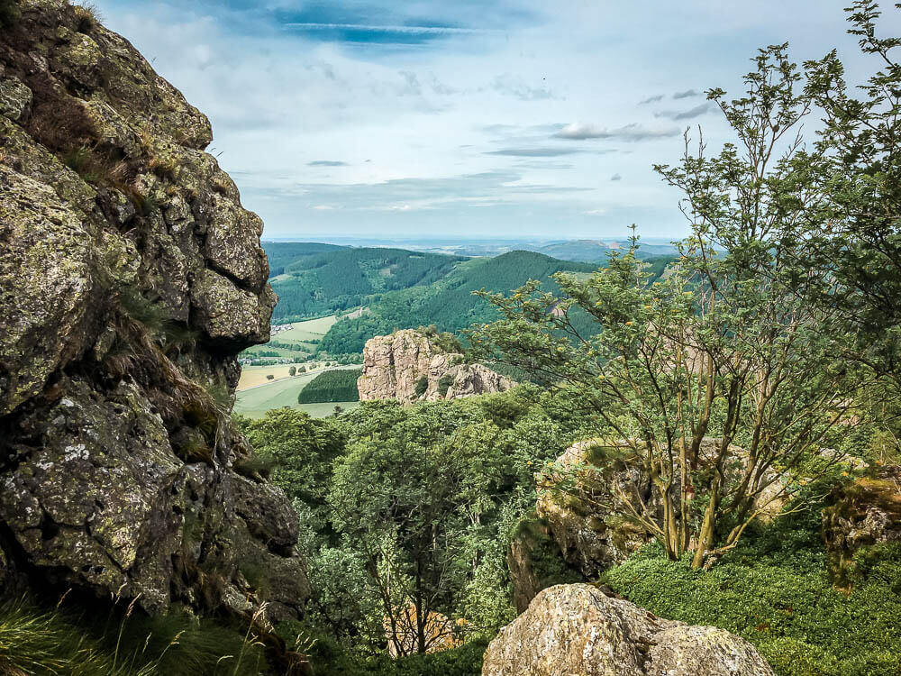 Wandern im Sauerland an den Bruchhauser Steinen bei Olsberg