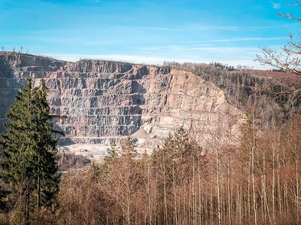 Steinbruch bei Iserlohn Nachrodt