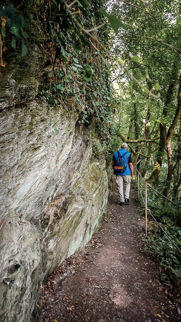 Wandern an der Mosel auf dem Moselsteig - Felsenpfad Etappe 13