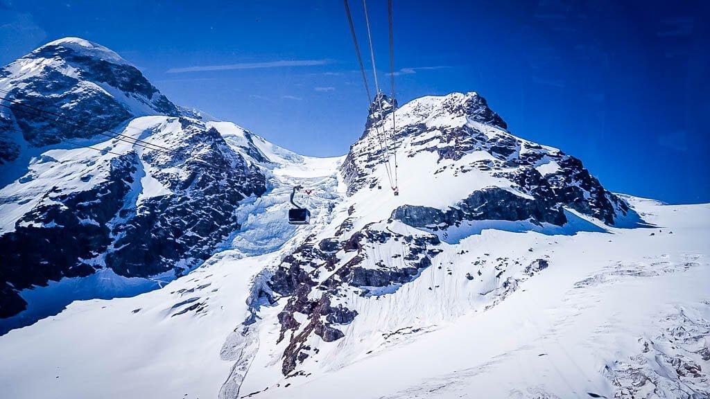 Matterhorn Glacier Experience Bergbahn zum Klein Matterhorn