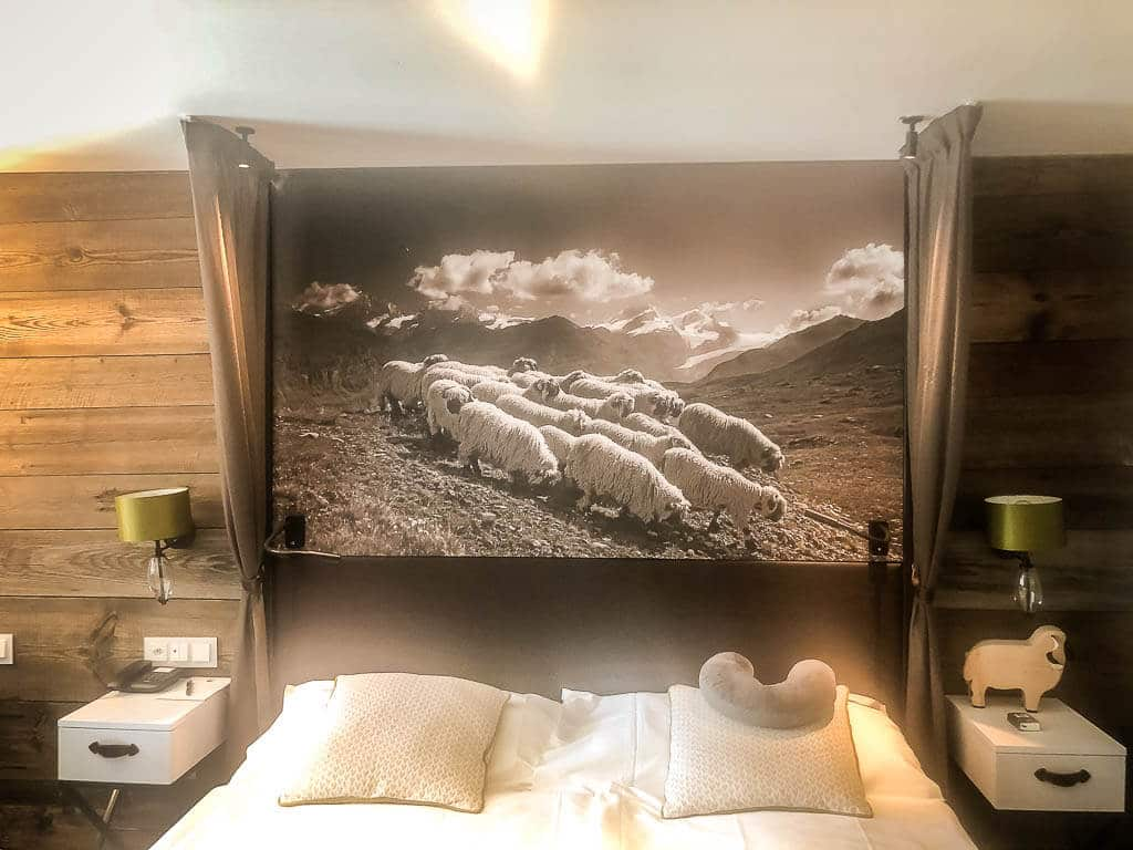 Doppelzimmer im Hotel Alpenhof in Zermatt