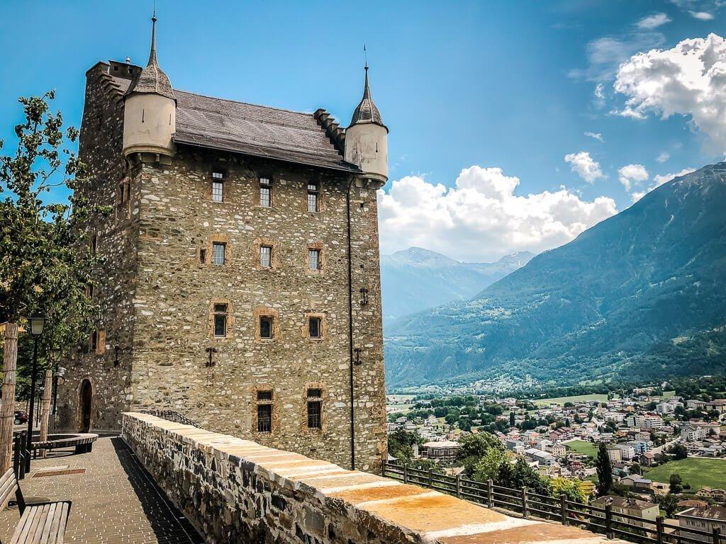 Schloss Leuk im Wallis