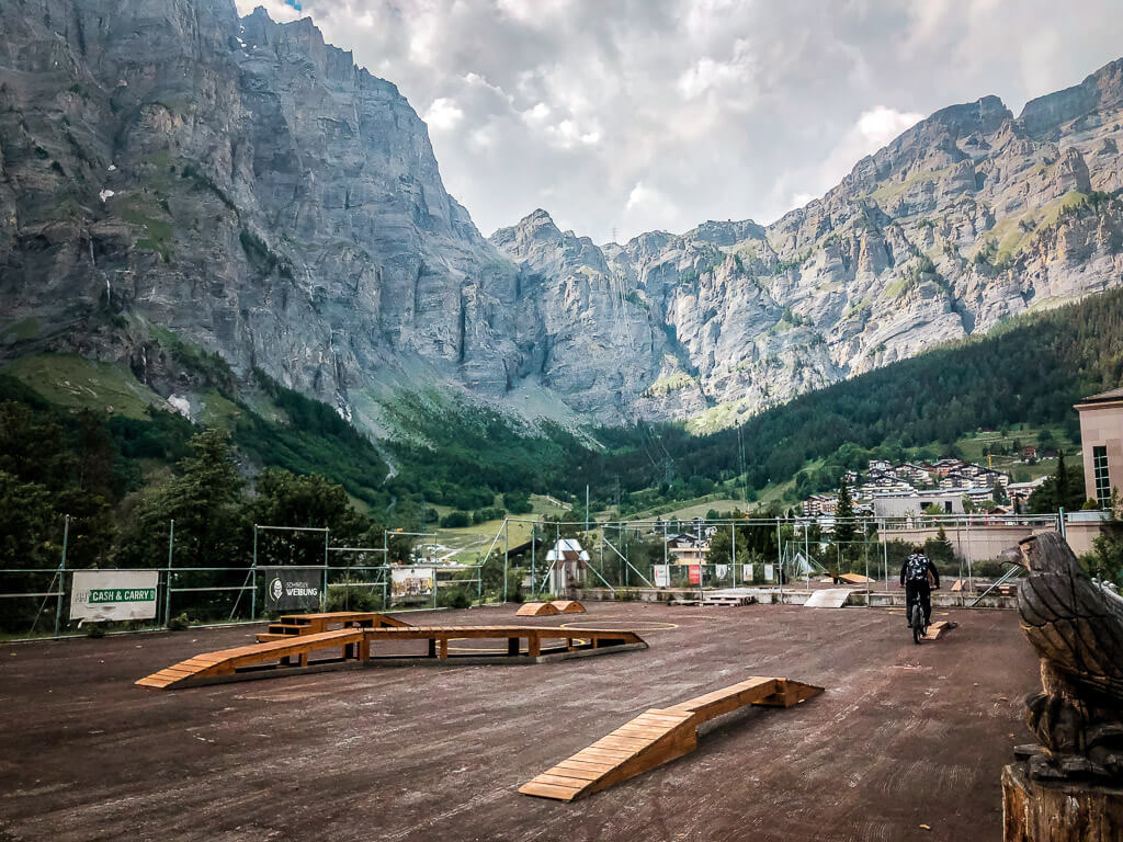 Leukerbad Biken Skill Area Bike Park