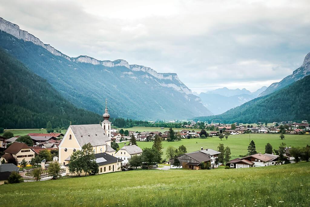 WaiWi - Dorf Waidring und Steinplatte im Pillerseetal