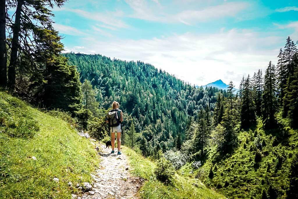 WaiWi Wanderung Etappe1 Wanderweg Kitzbüheler Horn