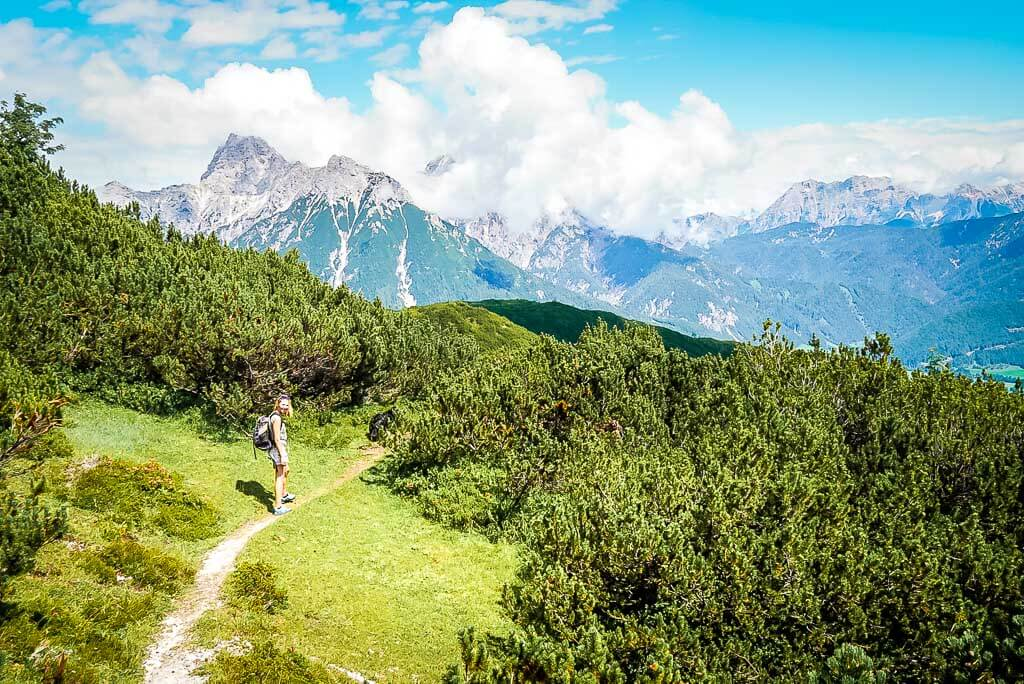 WaiWi Weitwanderweg in den Latschenfeldern am Kirchberg und Schafelberg im Pillerseetal