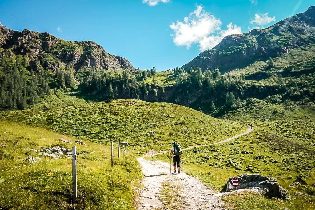 WaiWi Wanderweg zum Wildseeloderhaus in Fieberbrunn