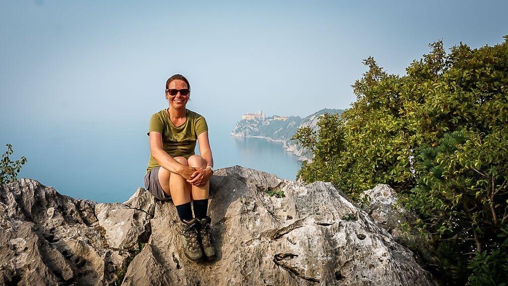 Couchflucht Sabrina Bechtold Weitwanderung Alpe Adria Trail Duino