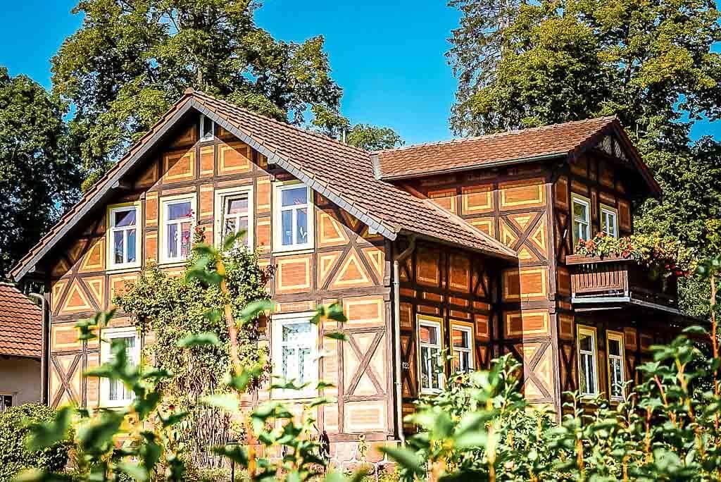 Fachwerkhaus in der Kurstadt Neustadt im Südharz
