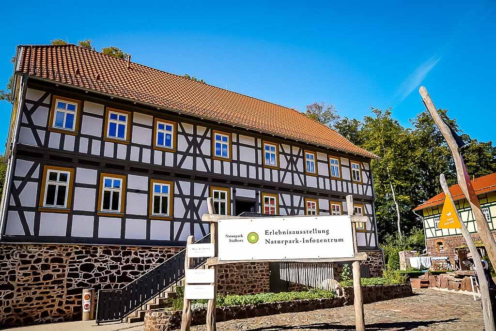 Naturpark Südharz Haus des Gastes Erlebnisausstellung Infozentrum